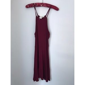 NWT LA Hearts Square Neck Halter Dress